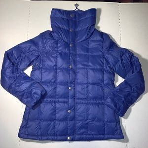 Ralph Lauren Puffer Jacket Drawstring Neck